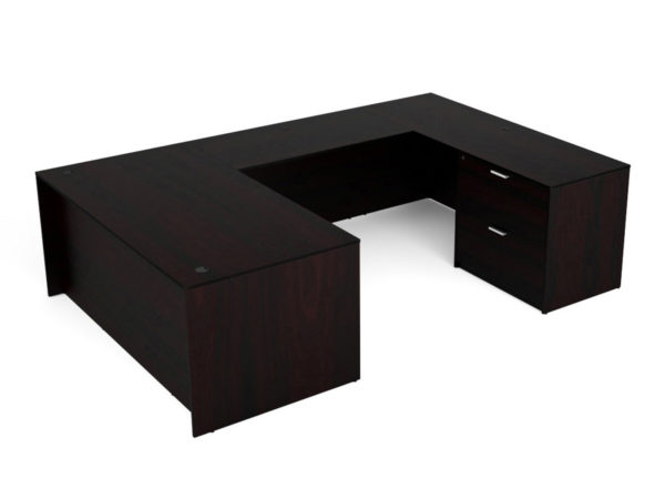 "Find used KUL 71x108 u-shape desk w/ 1bbf and 1 30"" 2 drawer lateral (esp)s at Office Furniture Outlet"