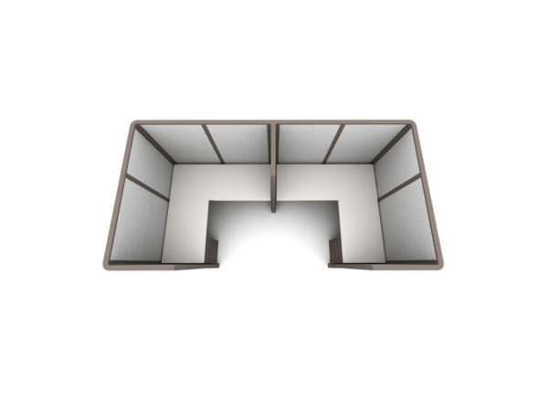 Find 2pack inline collaborative cubicles in size 5x5 at OFO Orlando