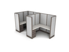 Buy new 5x5 2pack inline cubicles by KUL at Office Furniture Outlet - Orlando