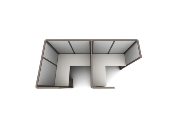 Find 2pack inline cubicles cubicles in size 5x5 at OFO Orlando