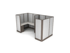 Buy new 6x6 2pack inline collaborative cubicles by KUL at Office Furniture Outlet - Orlando