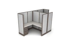 Buy new 6x6 2pack cluster cubicles by KUL at Office Furniture Outlet - Orlando
