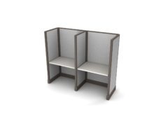 Buy new 36W 2pack inline cubicles by KUL at Office Furniture Outlet - Orlando