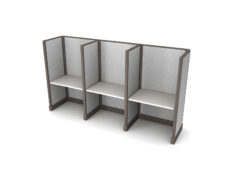 Buy new 36W 3pack inline cubicles by KUL at Office Furniture Outlet - Orlando