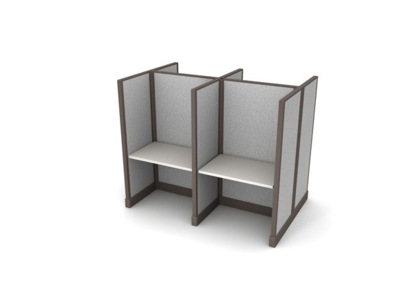 Buy new 36W 4pack cluster cubicles by KUL at Office Furniture Outlet - Orlando