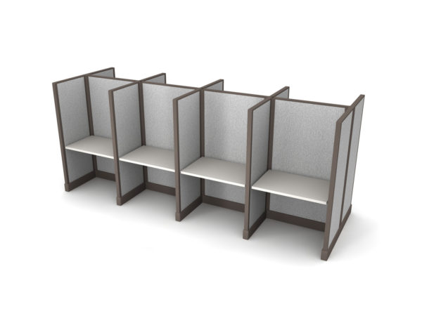 Buy new 36W 8pack cluster cubicles by KUL at Office Furniture Outlet - Orlando