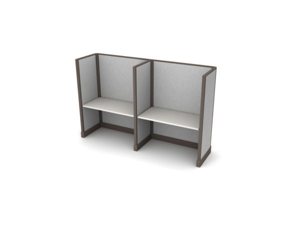 Buy new 48W 2pack inline cubicles by KUL at Office Furniture Outlet - Orlando
