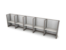 Buy new 48W 5pack inline cubicles by KUL at Office Furniture Outlet - Orlando