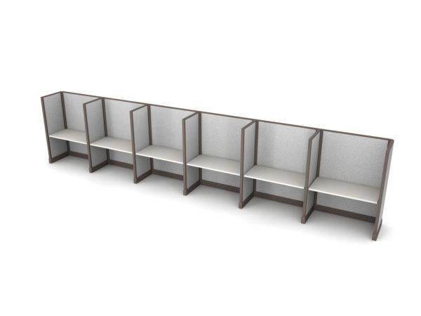 Buy new 48W 6pack inline cubicles by KUL at Office Furniture Outlet - Orlando