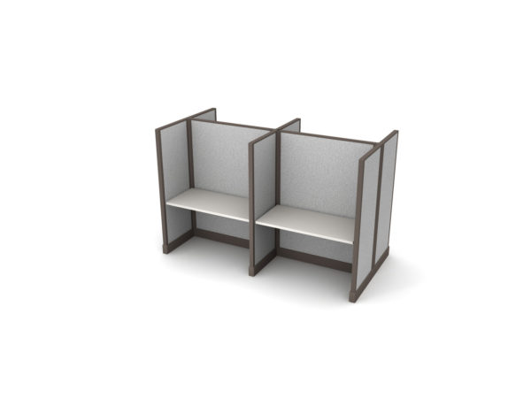 Buy new 48W 4pack cluster cubicles by KUL at Office Furniture Outlet - Orlando