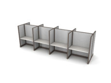 Buy new 48W 8pack cluster cubicles by KUL at Office Furniture Outlet - Orlando