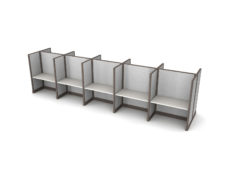 Buy new 48W 10pack cluster cubicles by KUL at Office Furniture Outlet - Orlando