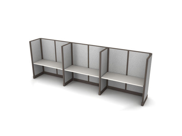Buy new 60W 3pack inline cubicles by KUL at Office Furniture Outlet - Orlando