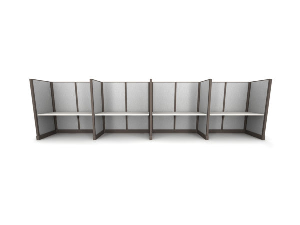 Find 4pack inline cubicles cubicles in size 60W at OFO Orlando