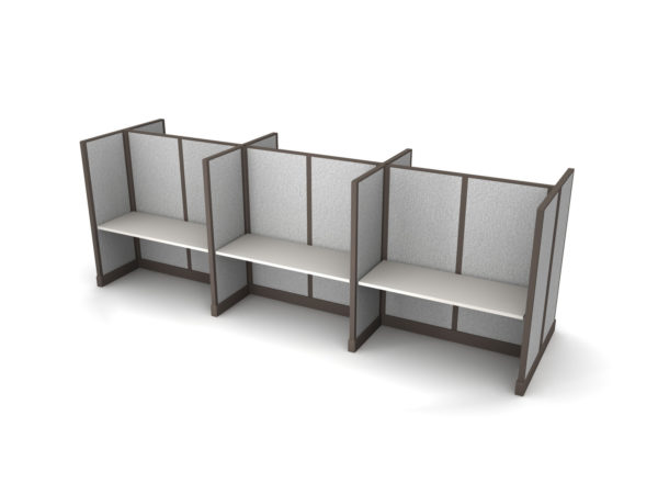 Buy new 60W 6pack cluster cubicles by KUL at Office Furniture Outlet - Orlando