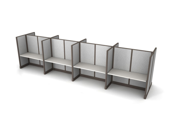 Buy new 60W 8pack cluster cubicles by KUL at Office Furniture Outlet - Orlando
